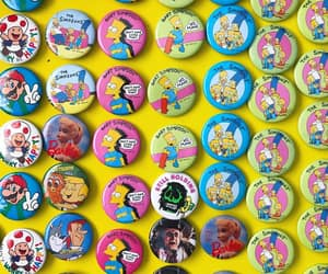 buttons, cartoons, and fashion image