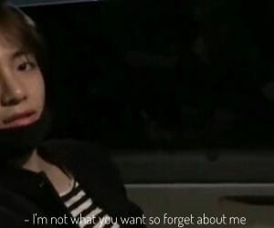 taehyung, quote, and depression image