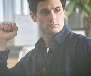 actor and Penn Badgley image