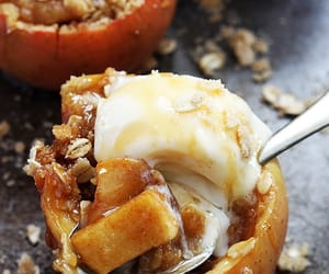food, autumn, and apple image