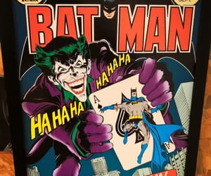 batman, DC, and joker image
