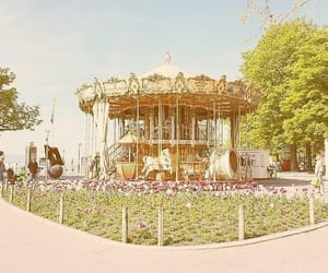 1997, aesthetic, and merry go round image
