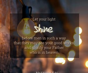 jesus, light, and shine image