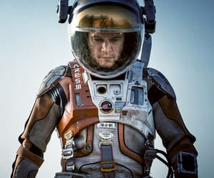 mars, astronaut, and matt damon image