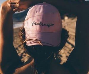 beach, feelings, and summer image