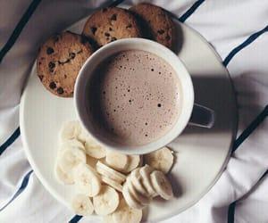 banana, food, and coffee image