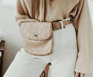 fashion, bag, and beige image