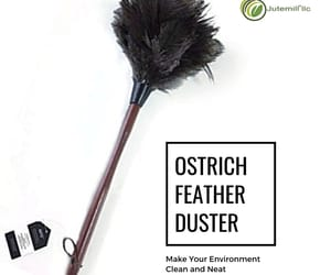 ostrich feather duster, dust cleaner, and feather dusters ostrich image