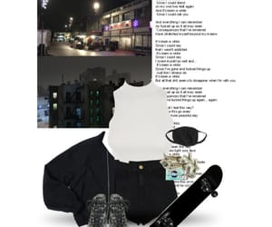 grunge, night, and Polyvore image