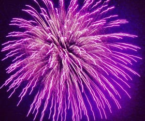 fireworks, light, and purple image