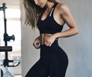 fit and girl image