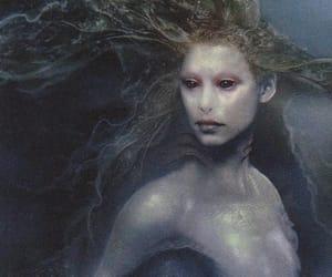 mermaid, creature, and siren image