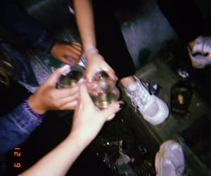 alcohol and friends image