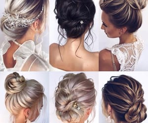 goals, hair, and wedding image