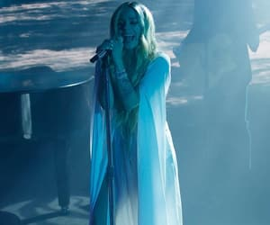 Avril Lavigne, blue, and complicated image