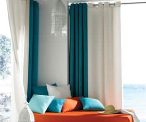 grommet curtains, pinch pleat drapes, and pinch pleat curtains image