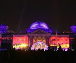 berlin, german unity day, and reichstag building image