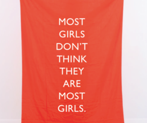 girls, quote, and think image