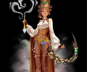 outfit, steampunk, and eldarya image
