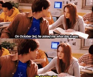 gif, october, and lindsay lohan image