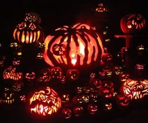 fall, Halloween, and pumpkins image