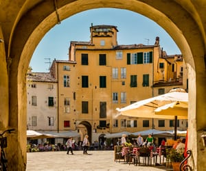 architecture, italy, and travelling image
