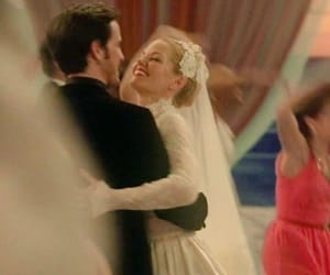 Jennifer Morrison, once upon a time, and wedding image