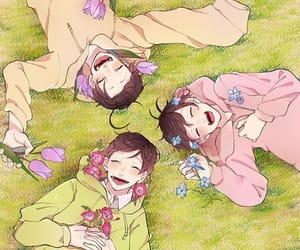 choromatsu, osomatsu san, and todomatsu image