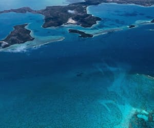 background, bora bora, and ocean image
