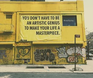 quotes, art, and yellow image