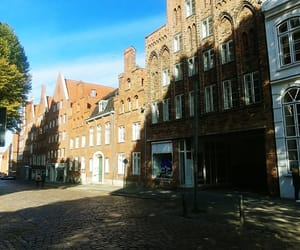 city, germany, and old house image