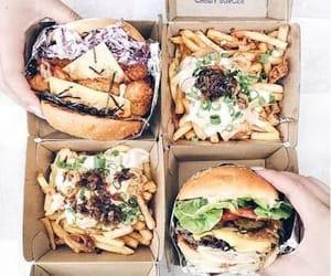 addiction, burger, and followme image