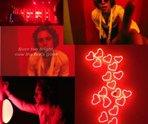 LUke, red, and hemmings image