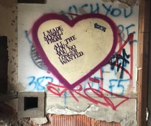 abandoned, heart, and poem image