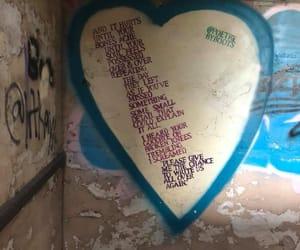 art, hearts, and urban exploring image