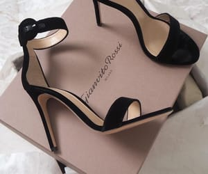 shoes, black, and chic image