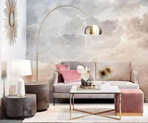 design, lamp, and living room image