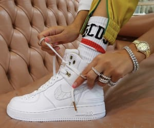 air force, dope, and gold image