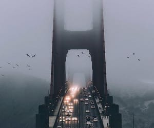 city and golden gate bridge image