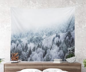 nature, dorm decor, and tapestry image