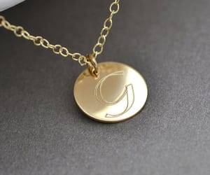etsy, Katie Holmes, and initial necklace image