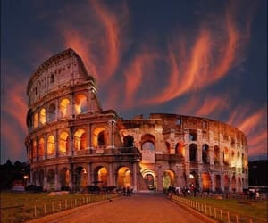 rome, italy, and colosseum image