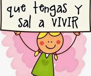 vivir, frases en español, and sonrie image