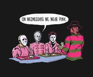 freddy krueger, michael myers, and scary image