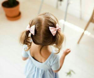 children, cute, and girl image