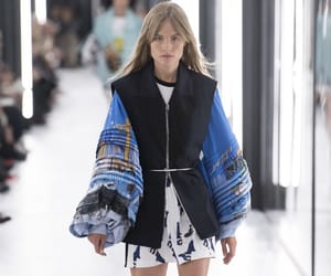 blue, fashion week, and Louis Vuitton image