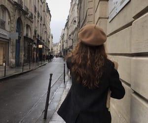 girl, city, and elegant image