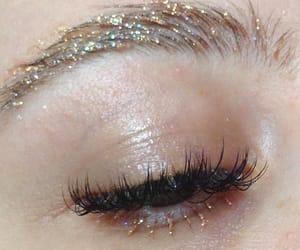glitter, makeup, and beauty image