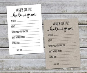 bride and groom, etsy, and wedding wishes image