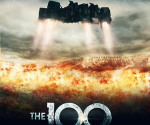 the 100 season 5 and the 100 image